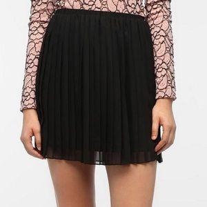 Zara Bottoms - Zara black pleated chiffon skirt